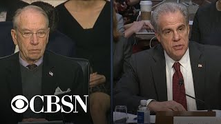 IG report hearing part 6: Chuck Grassley, Patrick Leahy question Michael Horowitz