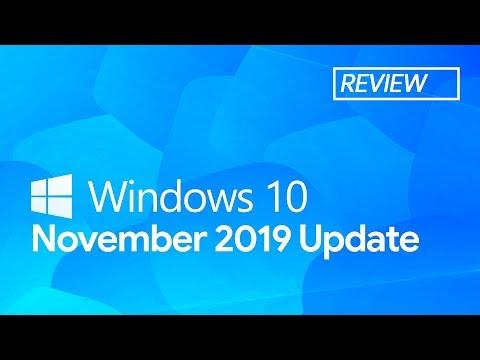 Обзор Windows 10 November 2019 Update – самое маленькое обновление Windows 10