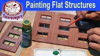 Painting Flat Structures