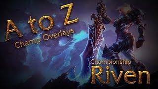 Free Championship Riven Overlay (Download in Description)
