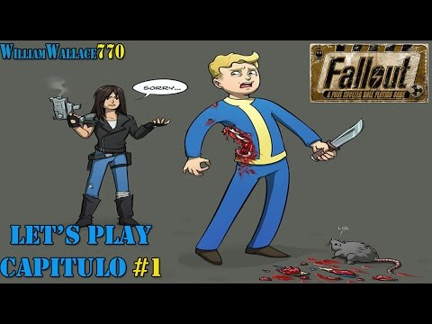 ♦ FALLOUT a Post Nuclear Role Playing Game | Let's play | Capitulo # 1