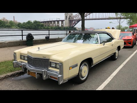 ⁴ᴷ⁶⁰ Walking NYC : Father's Day Classic Car Show 2019 at Astoria Park, Queens