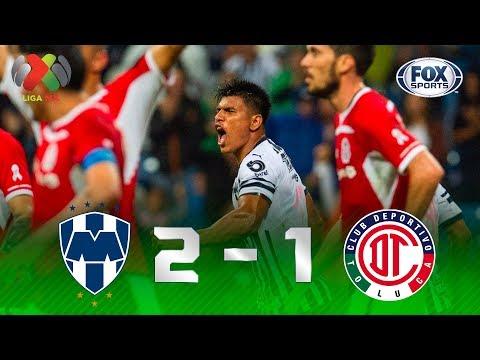 Monterrey - Toluca [2-1]   GOLES   Jornada 13   Liga MX