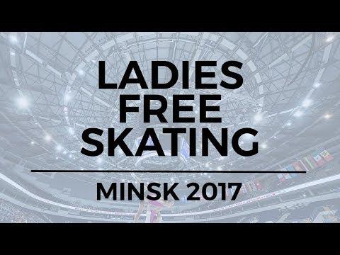 Alexandra TRUSOVA RUS - Ladies Free Skating MINSK 2017