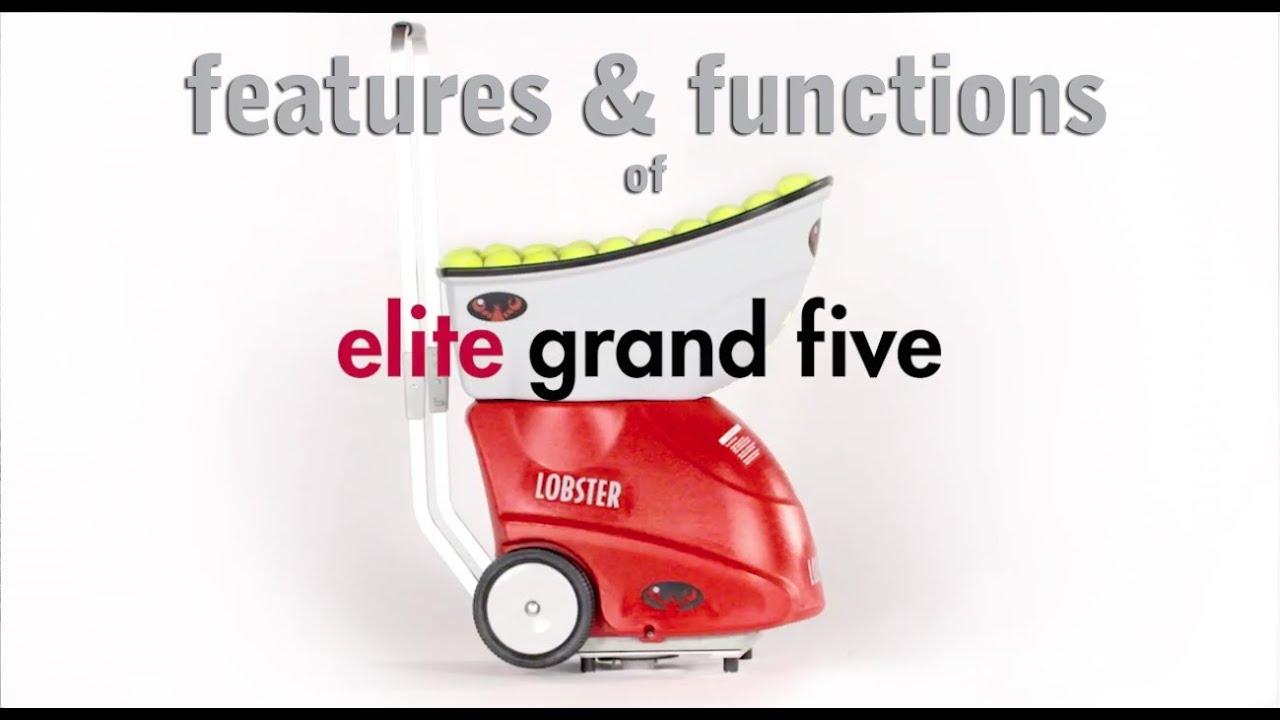 lobster sports elite 3 portable tennis machine