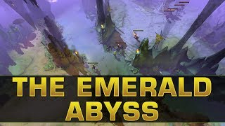 Dota 2 TI8 - The Emerald Abyss Map