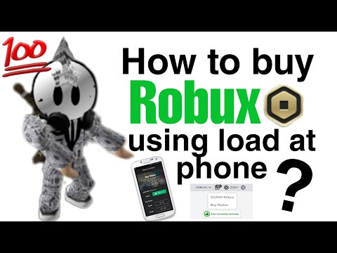 How To Buy Robux Using Load At Phone? (Roblox) 2020