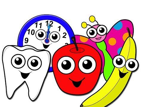 'Nursery School Songs Collection' - Kindergarten Preschool Video, Baby Toddler Learning, Kids Rhymes