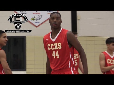 7 Foot Brandon McCoy Has a TON OF POTENTIAL! Top Cal PROSPECT CAN BALL!
