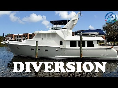 Trawler for Sale – Nordhavn 57 - DIVERSION - Offered by Jeff Merrill Yacht Sales, Inc.