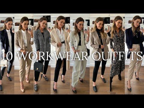 10 WORKWEAR / OFFICE OUTFITS   H&M ASOS TOPSHOP MANGO ZARA HAUL