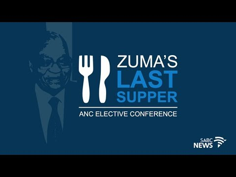 President Zuma last supper, 15 October 2017