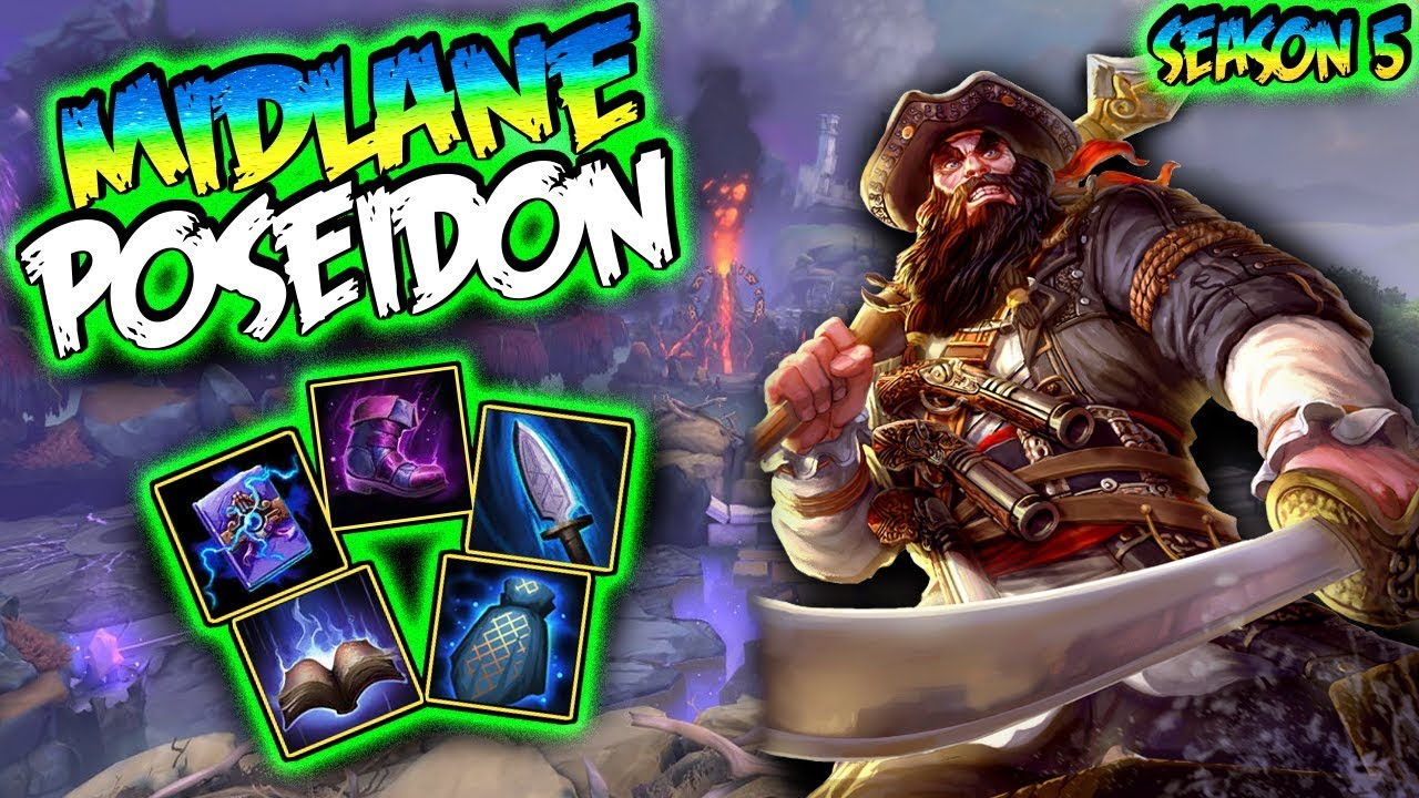 Smite Poseidon Build And Guide Where Did That Neith Go Smite