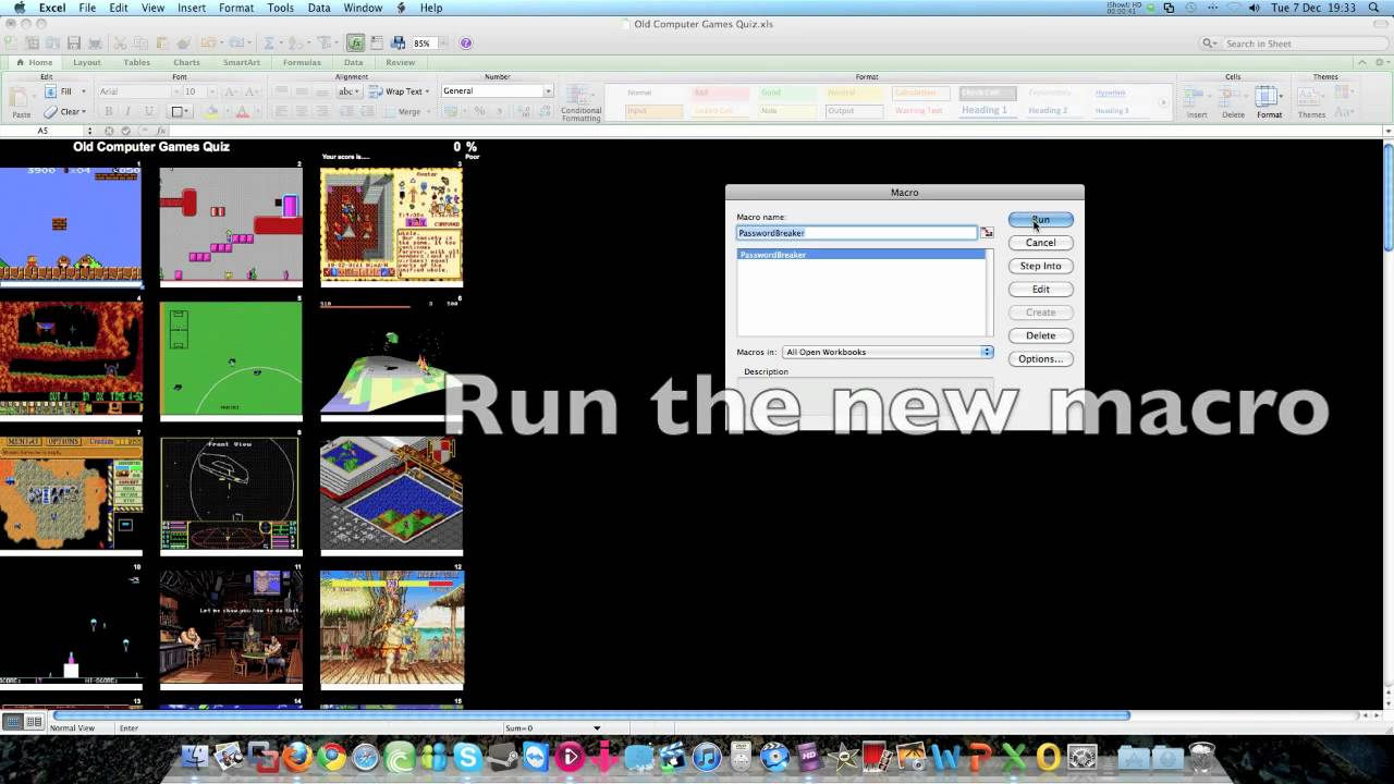 Unprotect excel sheet without knowing the password Mac YouTube – Unprotect Worksheet