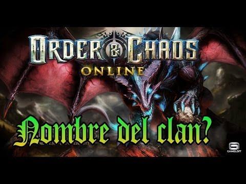 ORDER & CHAOS ONLINE - NOMBRE DEL CLAN?!