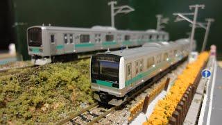 【鉄道模型紹介】TOMIX E233系 2000番台 通勤電車