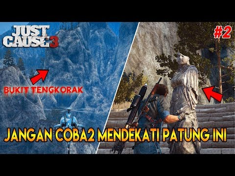 SEREM ! EDISI MISTERI | 10 RAHASIA JUST CAUSE 3 - PART 2 | JUST CAUSE 3 EASTER EGGS