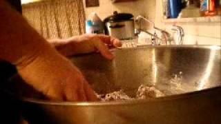 Dark Rye Bread In Coleman Oven