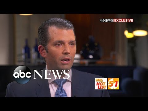 'GMA' Hot List: Donald Trump Jr. speaks out about the Mueller investigation