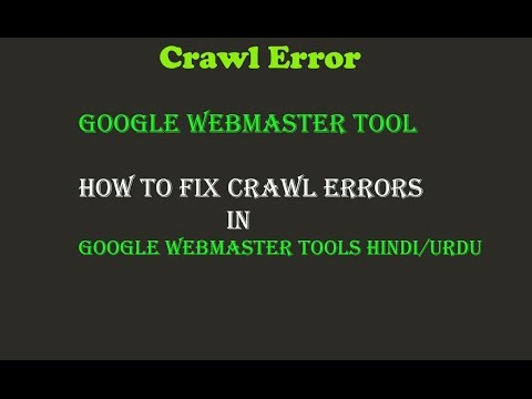 Fix Crawl Errors in Google Webmaster Tools Hindi |Webmaster Tools Crawl Errors |How to Fix 404 Error