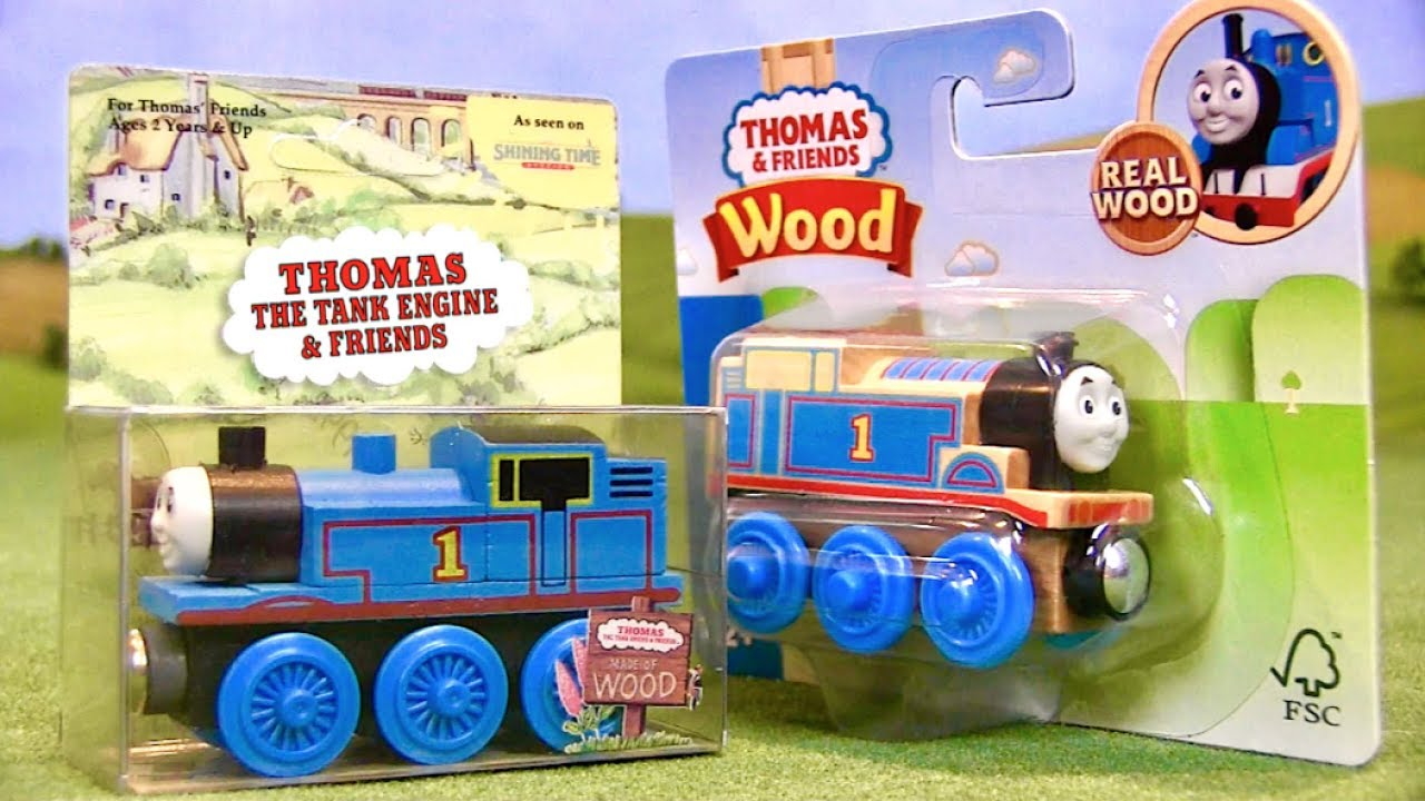 Evolution Of Thomas Wooden Railway Packaging 1992 2018