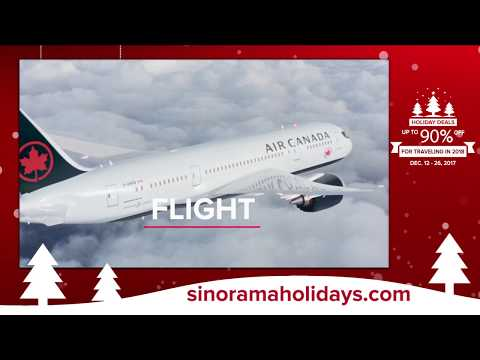 Sinorama Holiday Deals All Trips on Sale