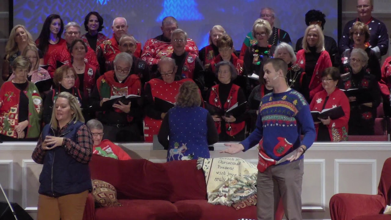 The Ugly Christmas Sweater Song Youtube