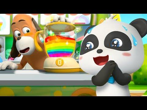 Colorful Juice Vending Machine   Colors Song   for kids   Nursery Rhymes   Kids Songs   BabyBus