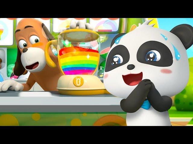 Colorful Juice Vending Machine   Colors Song   for kids   Nursery Rhymes   Kids Songs   BabyBus - Videos For Kids