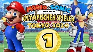 MARIO & SONIC BËI DEN OLYMPISCHEN SPIELEN: TOKYO 2020 🥇 #1: Eine magische Spielekonsole