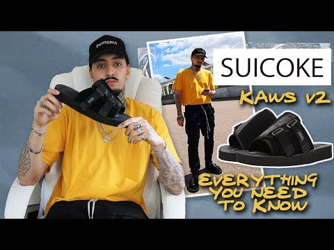SUICOKE KAWS V2 SANDALS | ARE THEY WORTH IT? | STREETWEAR 2018