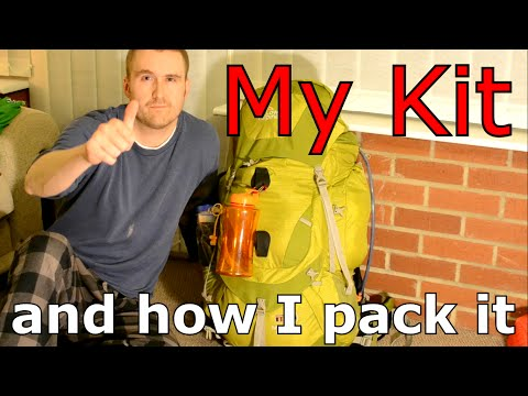 My kit and how I pack it