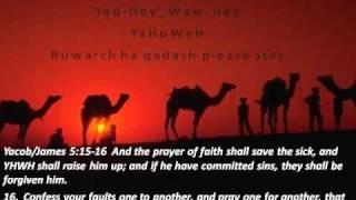 YHWH worship in spirit ruach and in truth emet