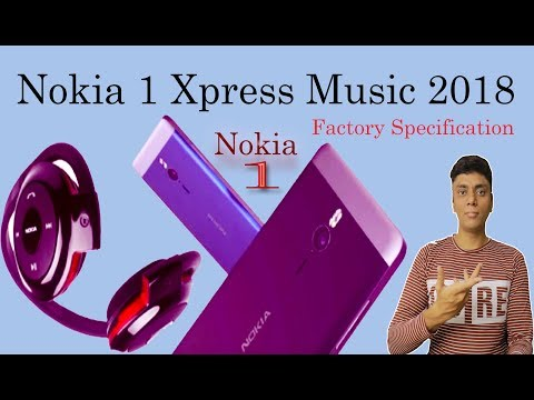 New NOKIA 1 XpressMusic (2018) Full Phone Specification