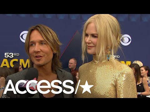 ACM Awards 2018: Nicole Kidman & Keith Urban Dish On Working Together On His New Album | Access