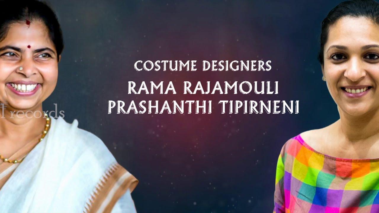 Costume Designers Rama Rajamouli Prashanthi Av Baahubali The Conclusion Youtube
