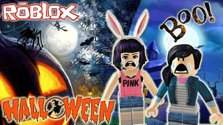 ROBLOX HALLOWEEN 2016 !! // Escape The Haunted House Obby // SULIIN18YT c/ Pinkfate