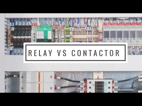 PLC Training Series ..Contactor and relay?PLC Tutorial Lecture#2 thumbnail