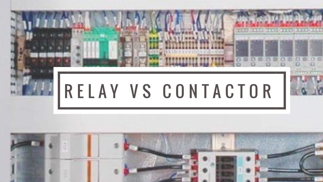 contactor and relay plc tutorial lecture 2 [ 1280 x 720 Pixel ]
