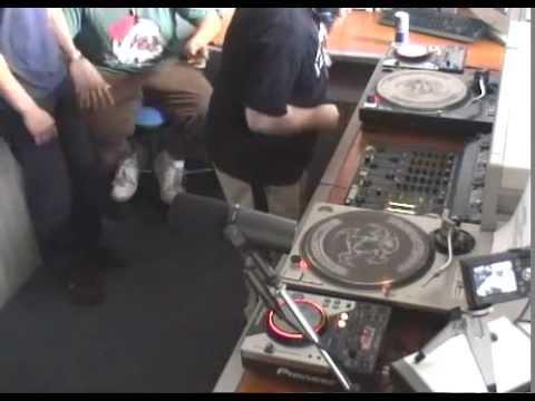 Kamikaze LIVE @ Ghettomania Radio - Galaxie FM (France)