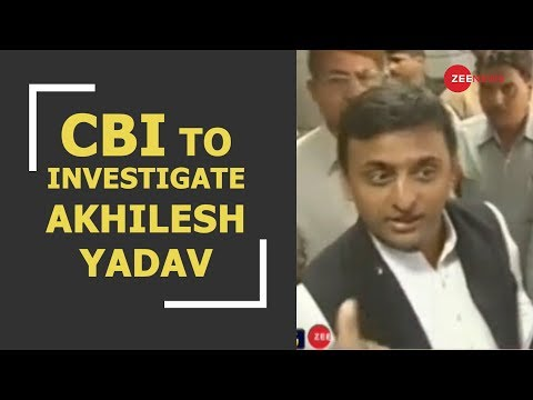 CBI to investigate Akhilesh Yadav in illegal sand mining case