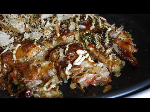 Modanyaki Recipe - Japanese Cooking 101