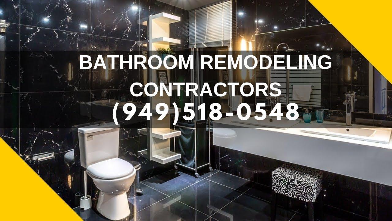 Bathroom Design Company Licensed Contractor Cost Near Me in Orange County  California