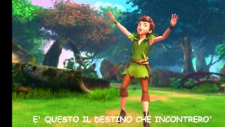"""Le nuove avventure di Peter Pan (con testo """"Sulle ali del mondo"""")"""