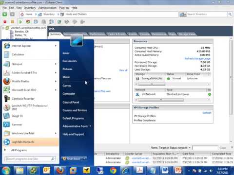 Moving Virtual Machines with vMotion