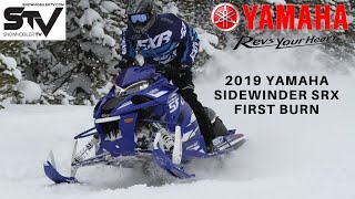 2019 Yamaha Sidewinder SRX First Burn