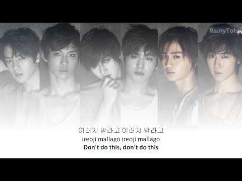 C-Clown - Shaking heart ~ lyrics on screen (KOR/ROM/ENG)