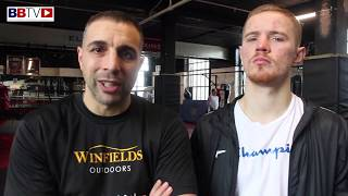COACH ALEX MATVIENKO AND HIS BOXER JACK FLATLEY READY FOR BIG FIGHTS AND TITLES IN 2019