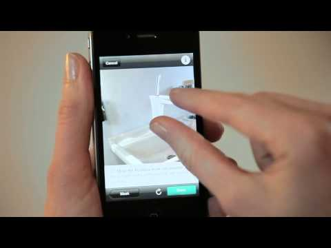 Virtual bathroom design with the Hansgrohe@home iPhone App