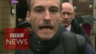 Election 2015: Reporter heckled in live TV report - BBC News
